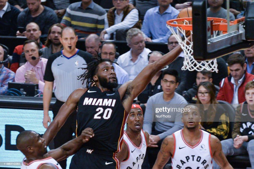 Miami Heat v Toronto Raptors : ニュース写真
