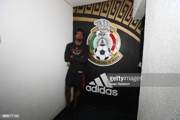 Justise Winslow of the Miami Heat visits Estadio Azteca as part of the NBA Mexico Games 2017 on December 8 2017 at Palcos Azteca in Mexico City...