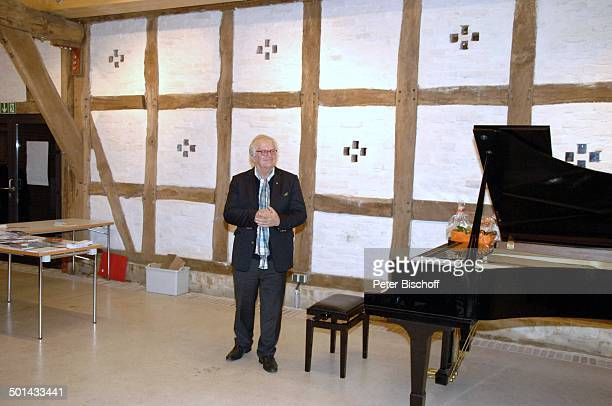 Justus Frantz KlavierKonzert Mozarts R e i s e nach P a r i s Sein Weg in die Unabhängigkeit initiert durch Stiftung Worpswede Bötjersche Scheune...