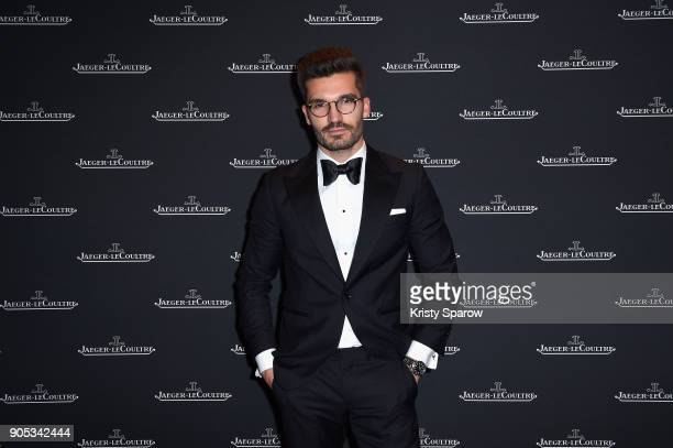 Justus Frederic Hansen attends JaegerLeCoultre Polaris Gala Evening at the SIHH 2018 at Pavillon Sicli on January 15 2018 in Les Acacias Switzerland