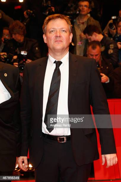 Justus von Dohnanyi attends 'The Monuments Men' premiere during 64th Berlinale International Film Festival at Berlinale Palast on February 8 2014 in...