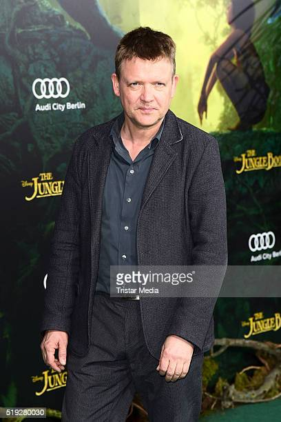 Justus von Dohnanyi attends the 'The Jungle Book' German Premiere on April 05 2016 in Berlin Germany