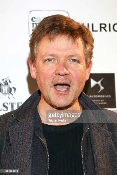 Justus von Dohnanyi attends the WarmUp 2018 Film Funding Opening Party In Schleswig Holstein and Hamburg on January 24 2018 in Hamburg Germany