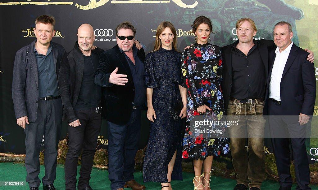 'The Jungle Book' German Premiere In Berlin : News Photo
