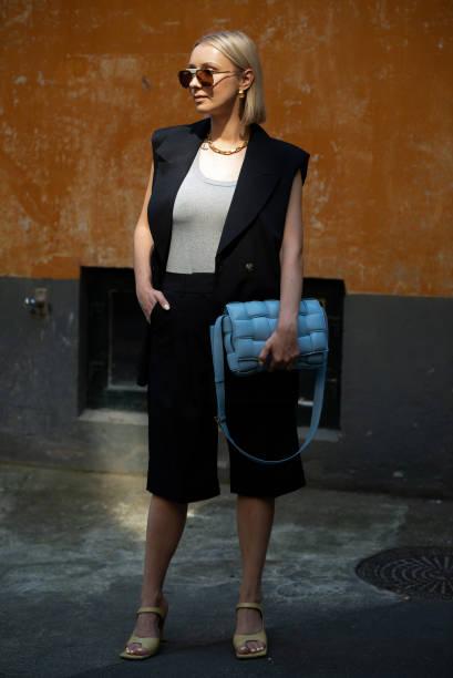 DNK: Street Style - Day 2 - Copenhagen Fashion Week Spring/Summer 2021