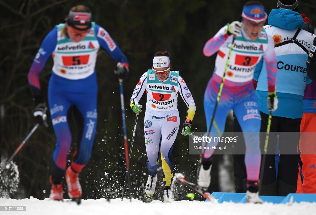 Women's Cross Country Relay - FIS Nordic World Ski Championships : News Photo