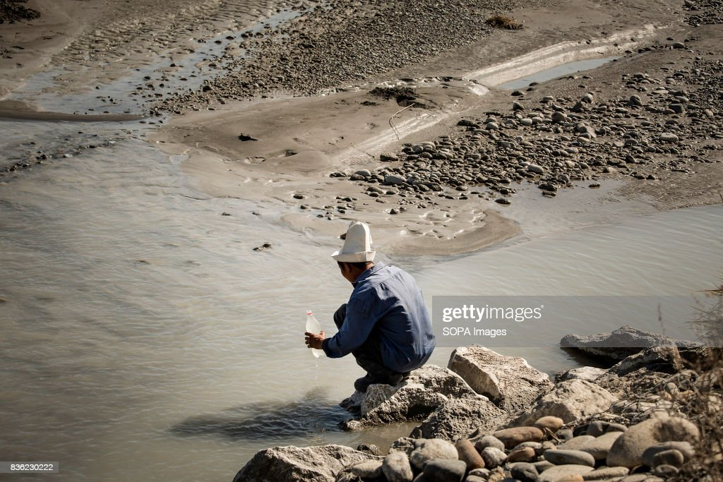 No Clean Water in Kyrgyzstan Villages : News Photo