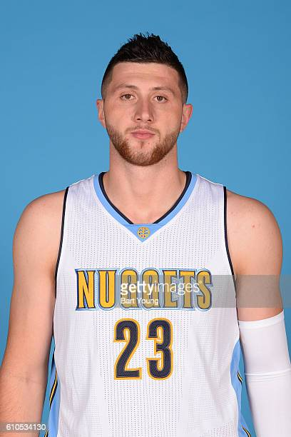 Jusuf Nurkic of the Denver Nuggets poses for a head shot during the 20162017 Media Day on September 26 2016 at the Pepsi Center in Denver Colorado...