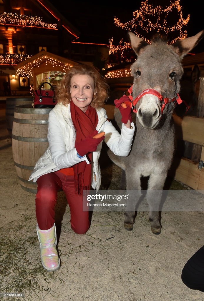 Jutta Kammann during the Gut Aiderbichl Christmas Market opening on November 14, 2017 in Henndorf am Wallersee, Austria.