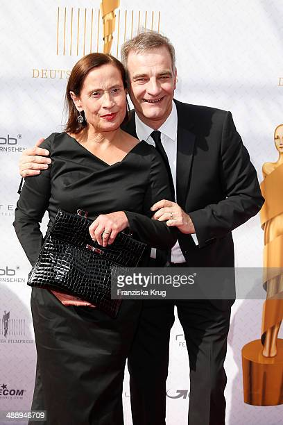Jutta Schafmeister and Heinrich Schafmeister attend the Lola German Film Award 2014 at Tempodrom on May 09 2014 in Berlin Germany