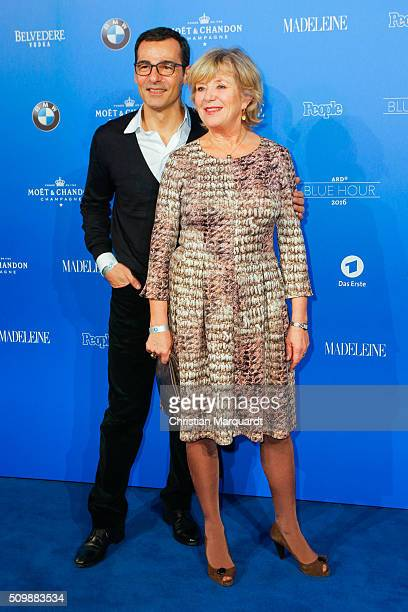 Jutta Speidel and Guest attend the Blue Hour Reception hosted by ARD during the 66th Berlinale International Film Festival Berlin on February 12 2016...