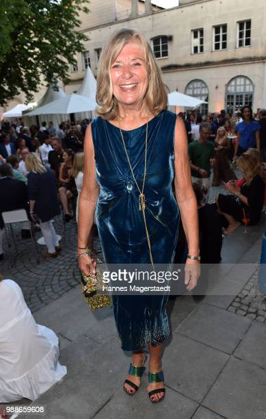 Jutta Speidel at the Event Movie meets Media during the Munich Film Festival on June 30 2018 in Munich Germany