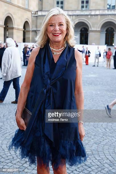 Jutta Speidel attends the Bernhard Wicki Award at Cuvilles Theatre on July 3, 2014 in Munich, Germany.