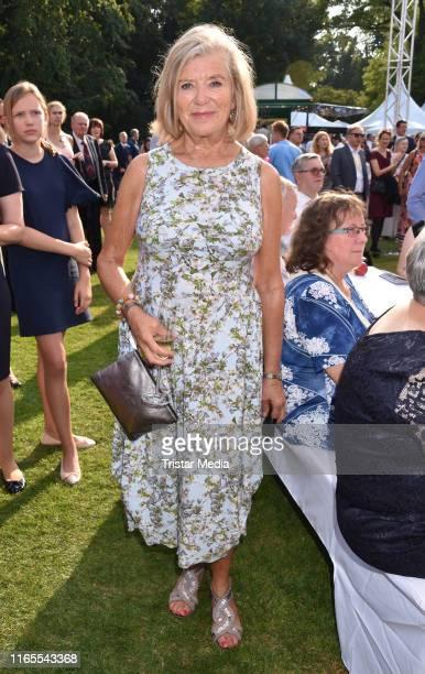 Jutta Speidel attends the folk festival of German President Frank-Walter Steinmeier on August 30, 2019 in Berlin, Germany.