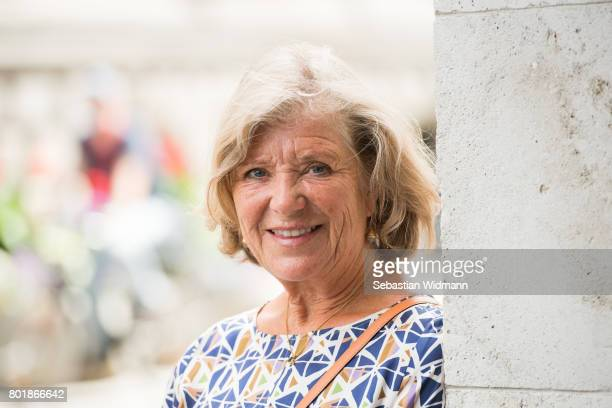 Jutta Speidel attends the ZDF reception during the Munich Film Festival at Hugo's on June 27, 2017 in Munich, Germany.