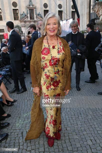 "Jutta Speidel during the 19th Mercedes-Benz reception at ""Klassik am Odeonsplatz"" on July 14, 2019 in Munich, Germany."