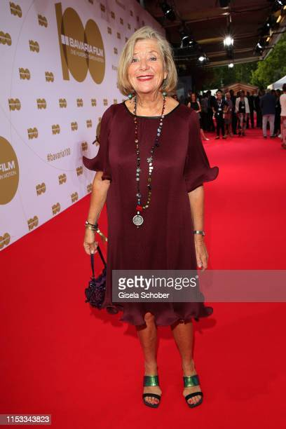 """Jutta Speidel during the Bavaria Film Reception """"One Hundred Years in Motion"""" on the occasion of the 100th anniversary of the Bavaria Film Studios..."""