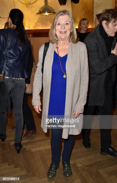 Jutta Speidel during the NdF after work press cocktail at Parkcafe on March 14 2018 in Munich Germany