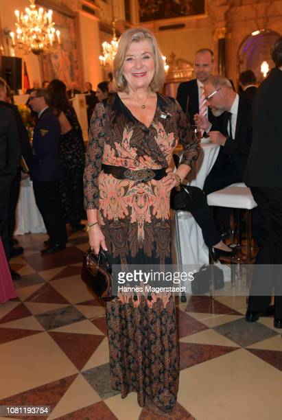 Jutta Speidel during the new year reception of the Bavarian state government at Residenz on January 11, 2019 in Munich, Germany.