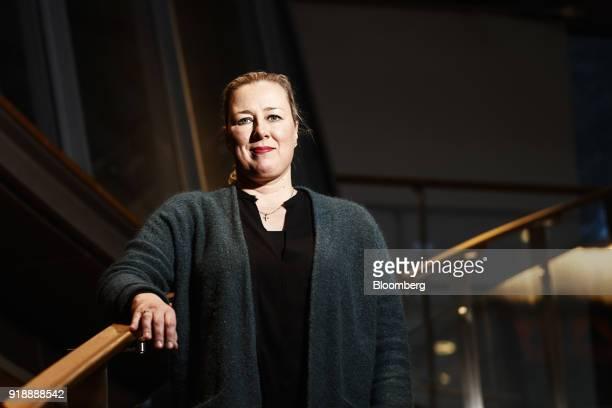 Jutta Urpilainen former Finnish finance minister poses for a photograph following an interview in Helsinki Finland on Thursday Jan 25 2018 European...