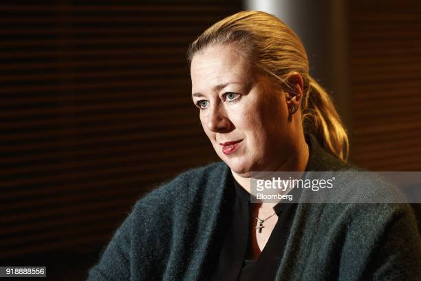 Jutta Urpilainen former Finnish finance minister speaks during an interview in Helsinki Finland on Thursday Jan 25 2018 European leaders agreed to...