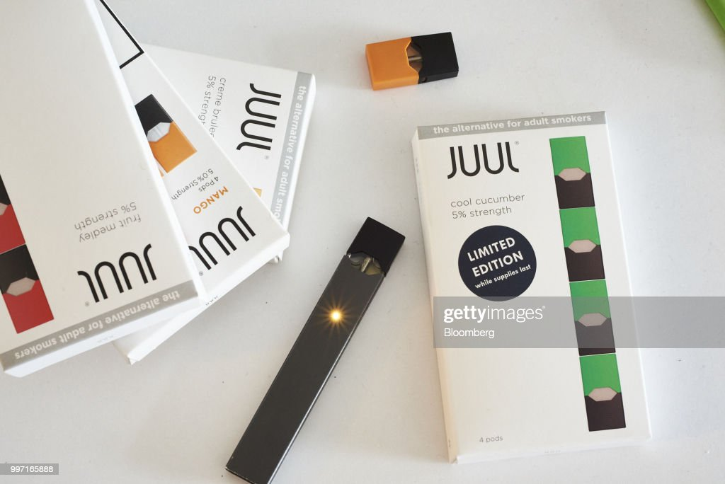 E-Cigarette Maker Juul Will Offer Lower-Strength Nicotine Pods
