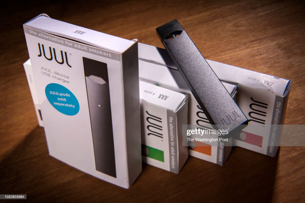 The Juul vaping system in Washington, DC. : News Photo