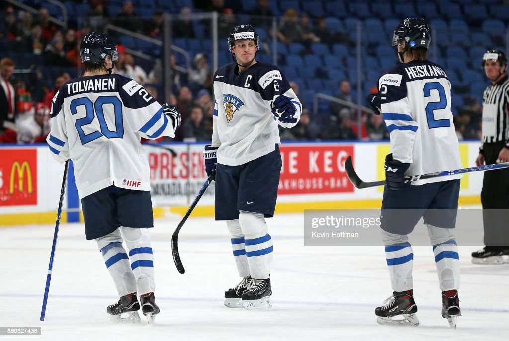 Finland v Denmark - 2018 IIHF World Junior Championship