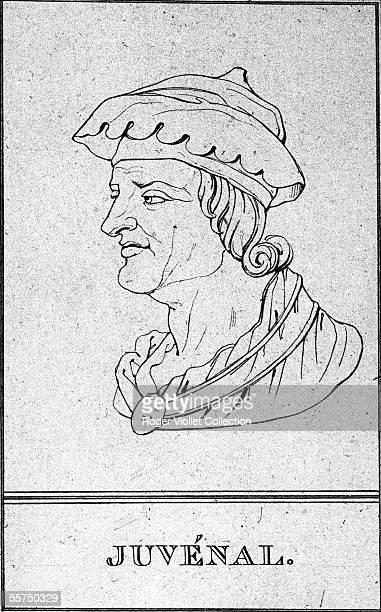 Juvenal Latin satirical poet Engraving