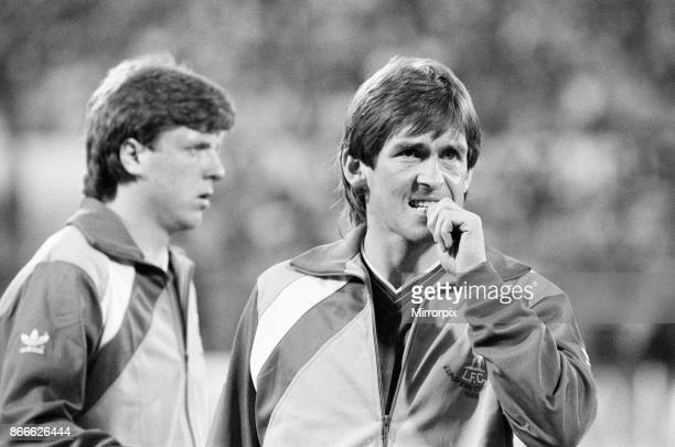 Juventus 10 Liverpool FC 1985 European Cup Final Heysel Stadium Brussels Belgium Wednesday 29th May 1985 match action Liverpool Players Kenny...