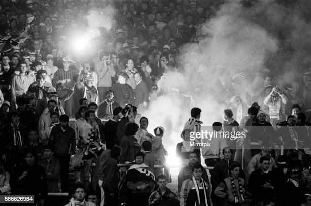 Juventus 1-0 Liverpool FC, 1985 European Cup Final, Heysel Stadium, Brussels, Wednesday 29th May 1985. Crowd Violence.