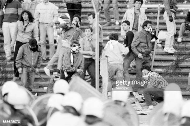 Juventus 10 Liverpool FC 1985 European Cup Final Heysel Stadium Brussels Wednesday 29th May 1985 Crowd Violence