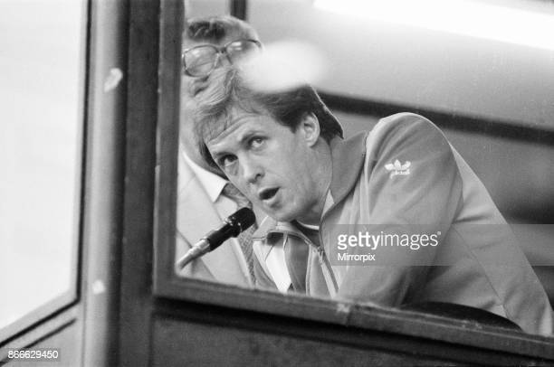 Juventus 10 Liverpool FC 1985 European Cup Final Heysel Stadium Brussels Wednesday 29th May 1985 Crowd Violence Phil Neal Liverpool Player Captain on...