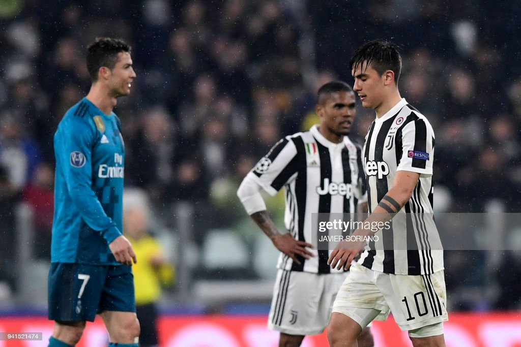 Paulo Dybala after sending off against Real Madrid in UEFA Champions League
