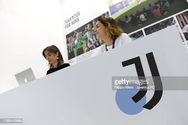 Juventus at Artissima Junior on October 31, 2019 in Turin, Italy.