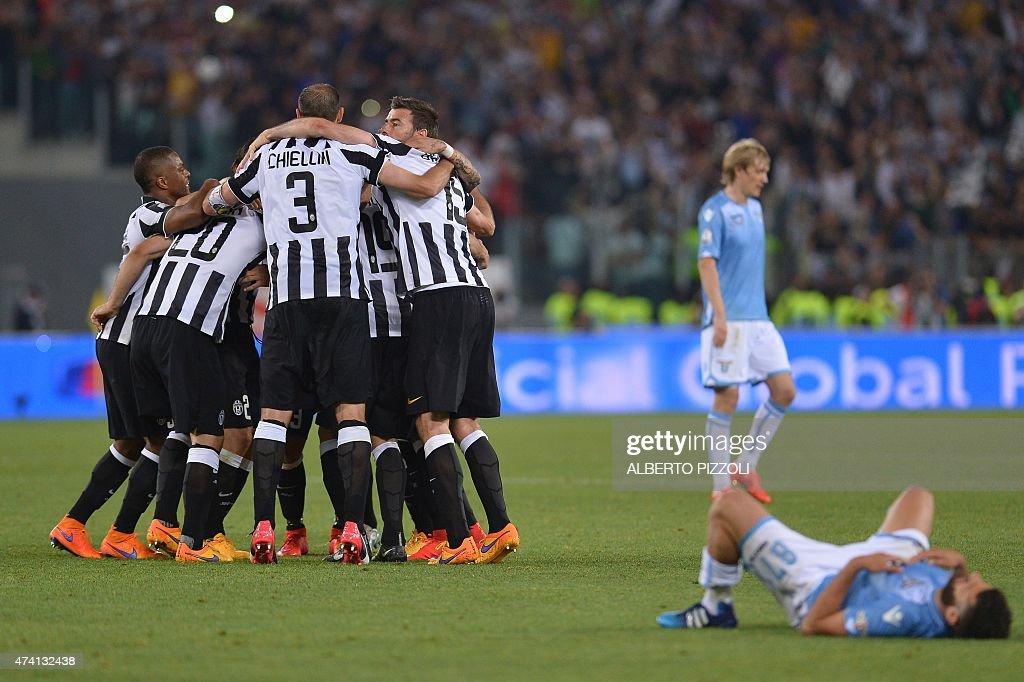 FBL-ITA-CUP-JUVENTUS-LAZIO : News Photo