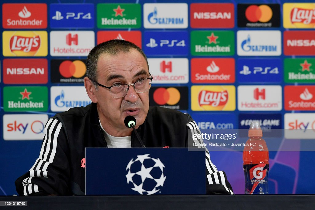 Juventus Training Session And Press Conference : News Photo