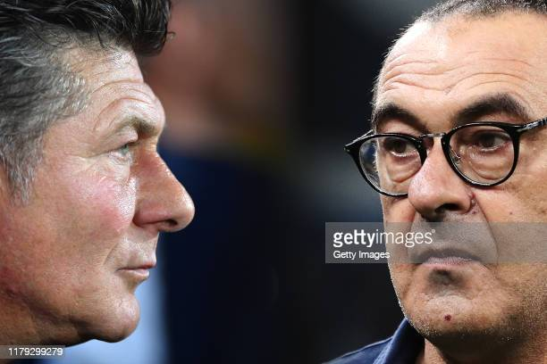 COMPOSITE OF IMAGES Image numbers 11686930521174187741 GRADIENT ADDED In this composite image a comparison has been made between Torino FC Head Coach...