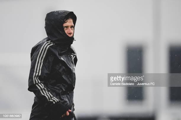 Juventus coach Rita Guarino during a Juventus Women training session at Juventus Center Vinovo on October 11 2018 in Vinovo Italy