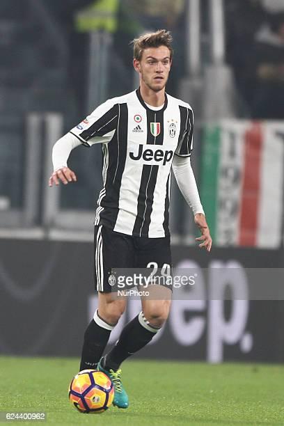 Juventus defender Daniele Rugani during the Serie A football match n13 JUVENTUS PESCARA on at the Juventus Stadium in Turin Italy Copyright 2016...