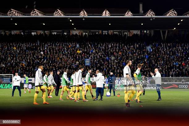 Juventus during the serie A match between Spal and Juventus at Stadio Paolo Mazza on March 17 2018 in Ferrara Italy