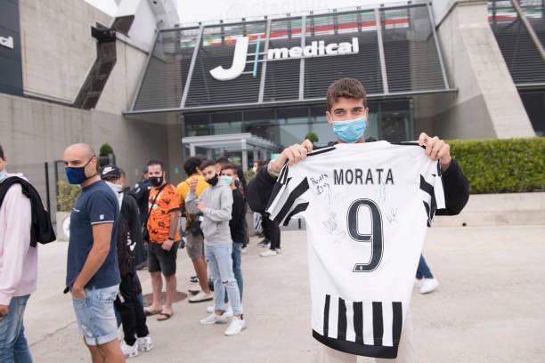 ITA: Juventus New Signing Alvaro Morata Medical Tests