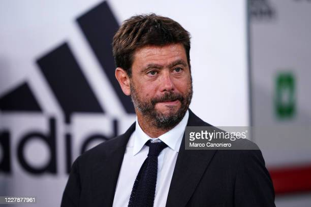 Juventus FC President Andrea Agnelli during the Serie A match between Juventus Fc and As Roma. As Roma wins 3-1 over Juventus Fc.