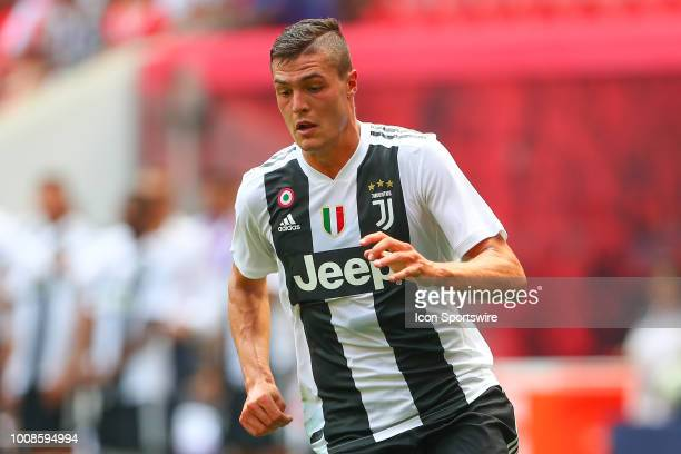 Juventus forward Andrea Favilli during the second half of the International Champions Cup game between Juventus and Benfica on July 28 2018 at Red...
