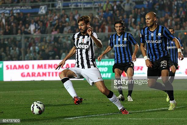 Juventus forward Fernando Llorente in action Serie A n5 ATALANTA JUVENTUS Sport Football Soccer Calcio 27/09/14 Stadio Atleti Azzurri Bergamo Italy...