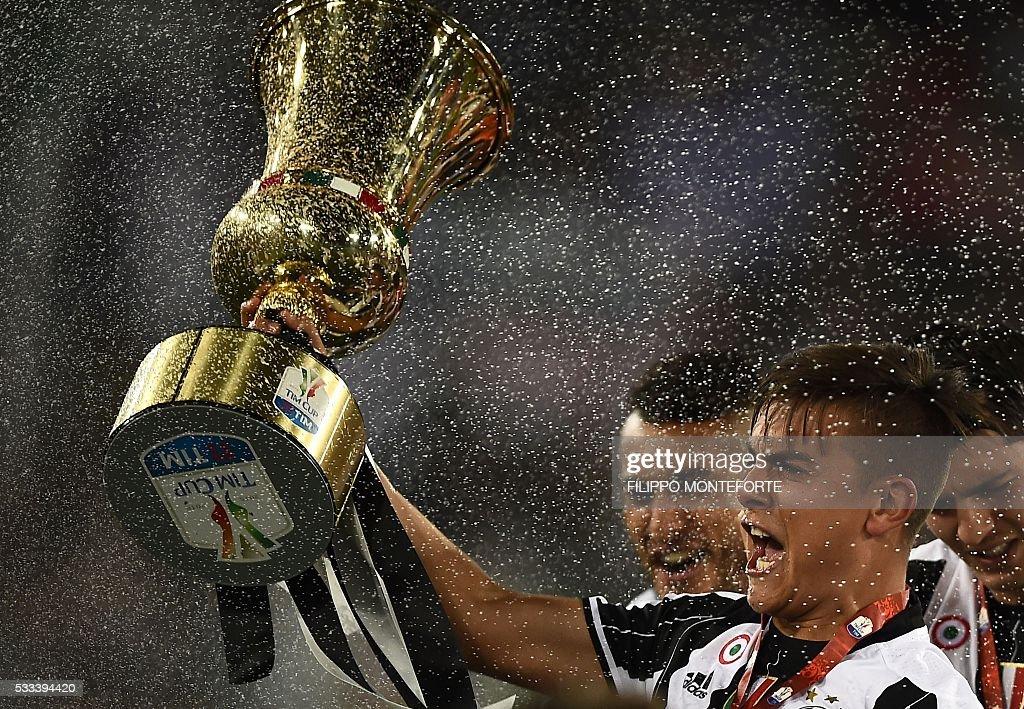 FBL-ITA-CUP-FINAL-MILAN-JUVENTUS : News Photo