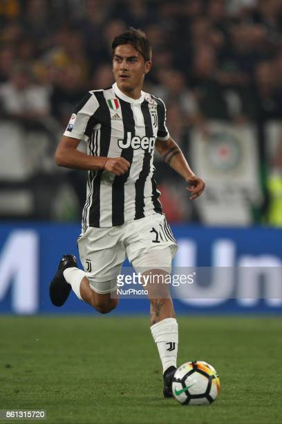 Juventus forward Paulo Dybala in action during the Serie A football match n8 JUVENTUS LAZIO on at the Allianz Stadium in Turin Italy