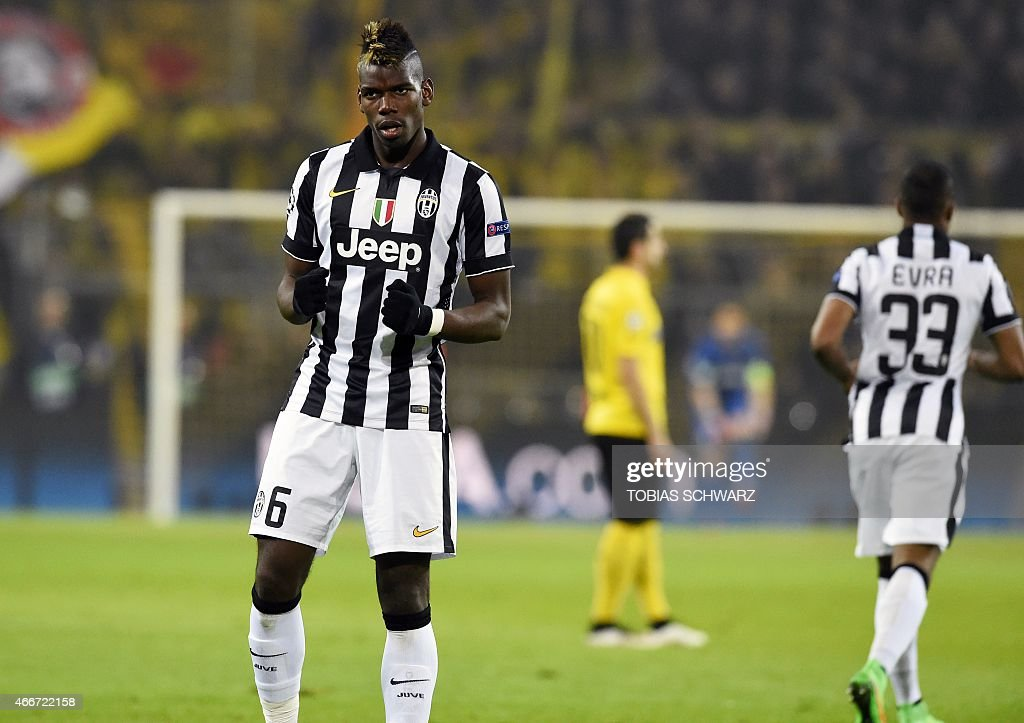 FBL-EUR-C1-DORTMUND-JUVENTUS : News Photo