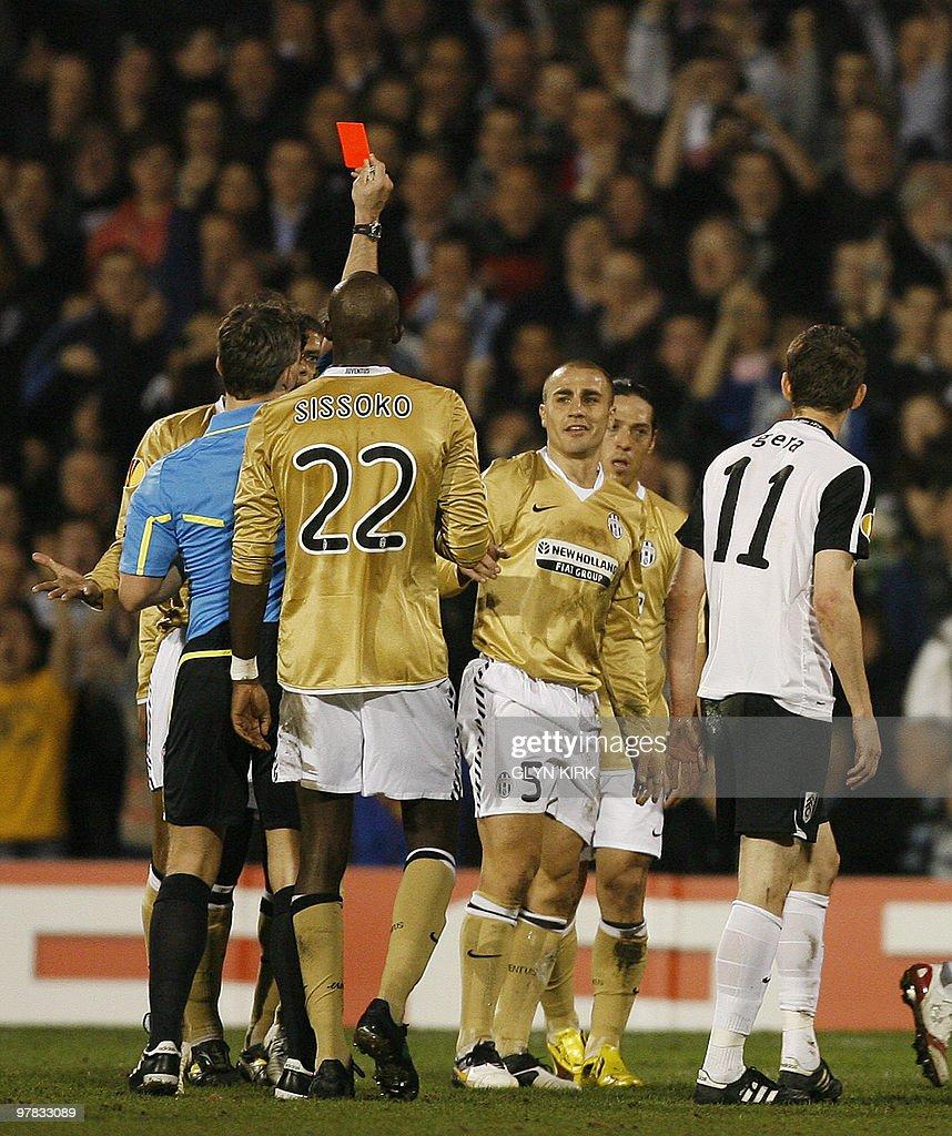 Juventus' Italian defender Fabio Cannava : News Photo
