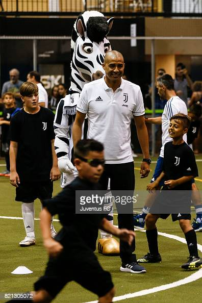 Juventus Legend David Trezeguet Watches Youth Training At The News Photo Getty Images